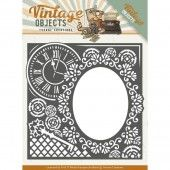 Die - Yvonne Creations - Vintage Objects - Endless Times Frame