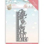 Die - Yvonne Creations - Welcome Baby - Growth Chart