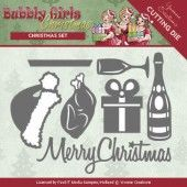 Die - Yvonne Creations - Bubbly Girls Christmas - Christmas Set