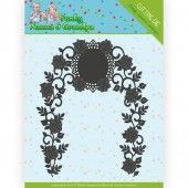 Die - Yvonne Creations - Funky Nanna's - Floral Arch