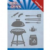 Die - Yvonne Creations - Big Guys - BBQ time