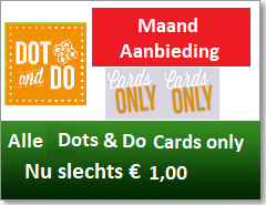 Alle Dot & Do Cards only