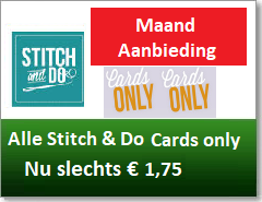 Alle Stitch & Do Cards Only