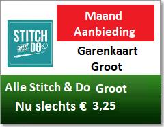 Alle Stitch & Do Garen Kaart Groot