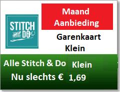 Alle Stitch & Do Garen Kaart Klein