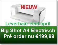 Big Shot A4 Electrisch