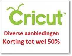 Cricut artikelen met geweldige kortingen tot 50%