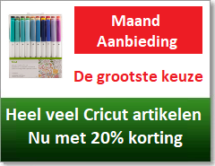 Cricut aanbieding