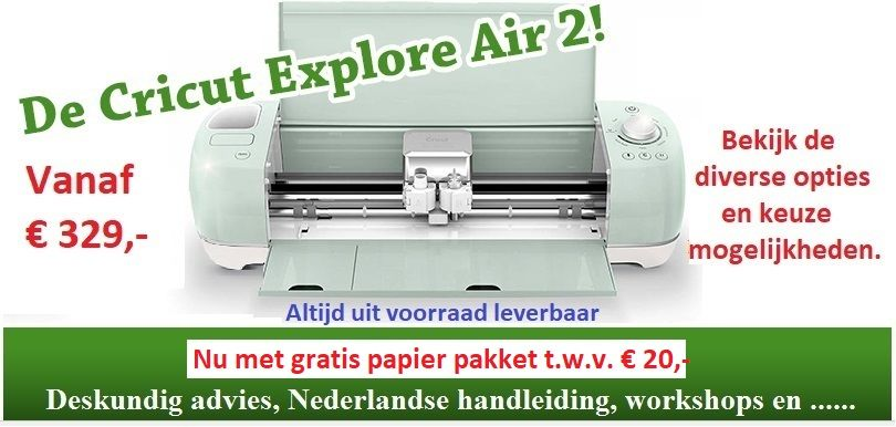 De Cricut Explore Air