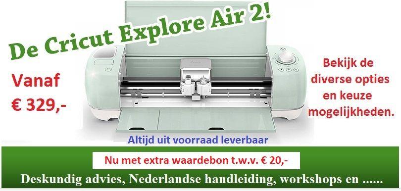 De Cricut Explore Air