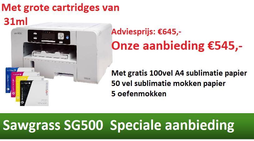 Sawgrass SG500 aanbieding